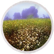 The Secret Garden Round Beach Towel
