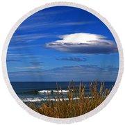 The Seductive Sea Round Beach Towel