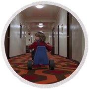 The Shining Round Beach Towel