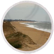 The Shoreline Round Beach Towel