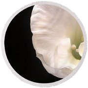 The Smallest Petals Round Beach Towel