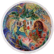 The Song Of Songs. Day Round Beach Towel