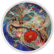 The Song Of Songs. Night Round Beach Towel