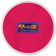 The Soul Of Humanity Will Be Gone After The Dark Round Beach Towel