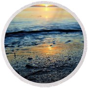The Sound's Edge Round Beach Towel