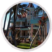 The Southernmost Hotel  Round Beach Towel