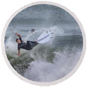 The Spray Round Beach Towel