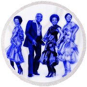 The Staple Singers Collection Round Beach Towel