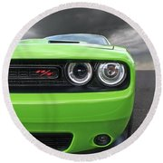 The Stare - Challenger Rt Round Beach Towel