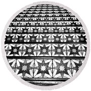 The Stars Lead The Way Round Beach Towel