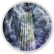 The Stormbringer Round Beach Towel