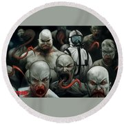 The Strain Round Beach Towel