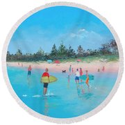 The Surfers Round Beach Towel