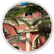 The Three Hundred Sixty Five Fifth Avenue S. Round Beach Towel