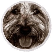 The Toto Round Beach Towel