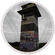 The Tower Round Beach Towel