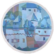 Germantown Round Beach Towel