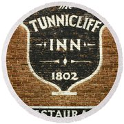 The Tunnicliff Inn - Cooperstown Round Beach Towel
