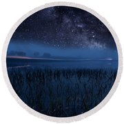 The Universe Round Beach Towel