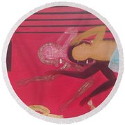 The Unravelled Round Beach Towel