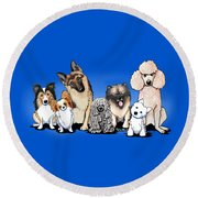 The Usual Suspects 3 Round Beach Towel