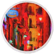 The Walkabouts - Spanish Red Moon Stroll Round Beach Towel