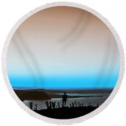The Wandering Youth 3 Round Beach Towel