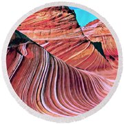 The Wave 2 Round Beach Towel