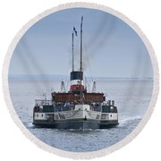 The Waverley Approaches Round Beach Towel
