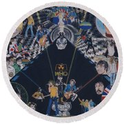 The Who - Quadrophenia Round Beach Towel
