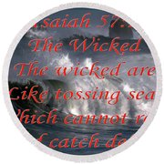 The Wicked Round Beach Towel