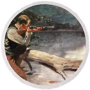 The Winchester Round Beach Towel