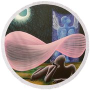 The Wings Round Beach Towel