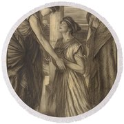 The Winter's Tale Round Beach Towel