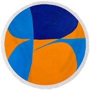 The Word Be Round Beach Towel