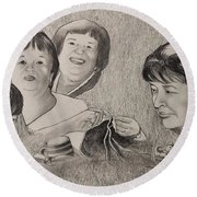 Therese  Round Beach Towel