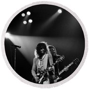 Thin Lizzy Round Beach Towel