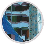 Third And Earll Round Beach Towel