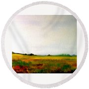 This Is My Land, My Home Round Beach Towel