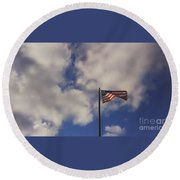 This Land Was Made For You And Me Round Beach Towel