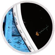 This Space Available Round Beach Towel