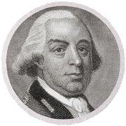 Thomas Gage, 1719 To1787. British Round Beach Towel