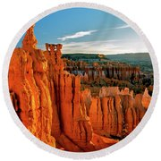 Thor's Hammer Bryce Canyon National Park Round Beach Towel