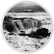 Thors Well Truly A Place Of Magic 7 Round Beach Towel