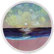 Thoughtless, Timeless Round Beach Towel