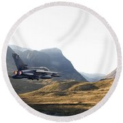 Thunder In The Glen Round Beach Towel