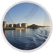 Ti Observation Tower 2 Round Beach Towel