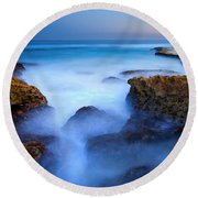 Tidal Bowl Boil Round Beach Towel