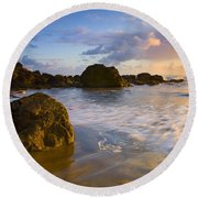 Tidal Flow Round Beach Towel