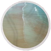 Tidal Reflections Round Beach Towel